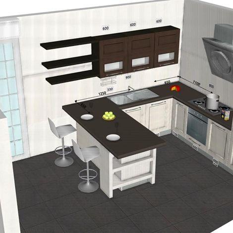 Oltre 25 fantastiche idee su piccole cucine su pinterest for Planimetrie georgiane