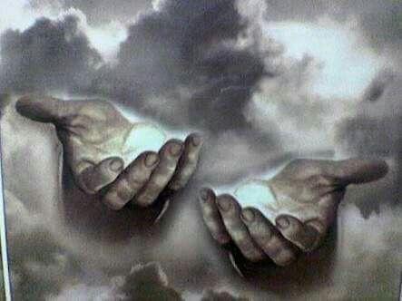 •Neem ń klippie en sit dit in Die Palm van jou hand,,  Vou nou albei jou hande om die klippie sodat jy dit kan rondskud sonder dat die klippie uitval!!,,   Dis Presies Hoe jy in #GOD se hande is. Al skud die lewe jou hoe rond jy sal nooit uit GOD se hande Val_nie!!!!!