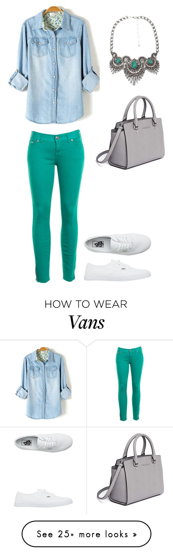"""Untitled #312"" by bintoman on Polyvore featuring BKE, Free People, Vans and MICHAEL Michael Kors"