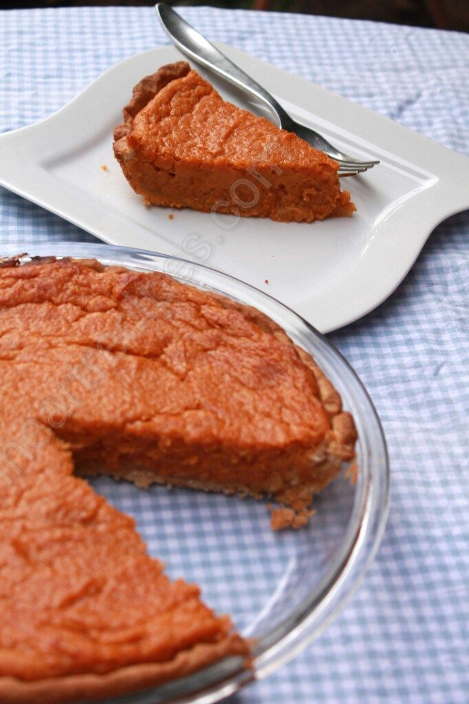Southern Sweet Potato Pie, Soul Food Style made completely from scratch! Hey Y'all! I've been getting a ton of requests for a homemade soul food style sweet potato pie. You know the kin…
