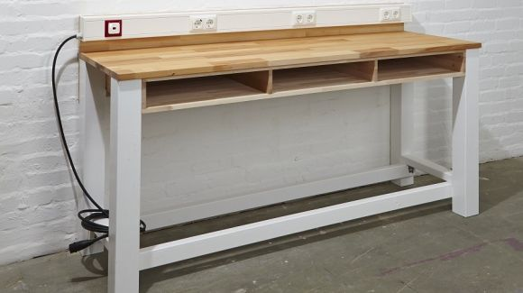Maßgeschneiderte Werkbank selber bauen: Herzstück jeder Werkstatt