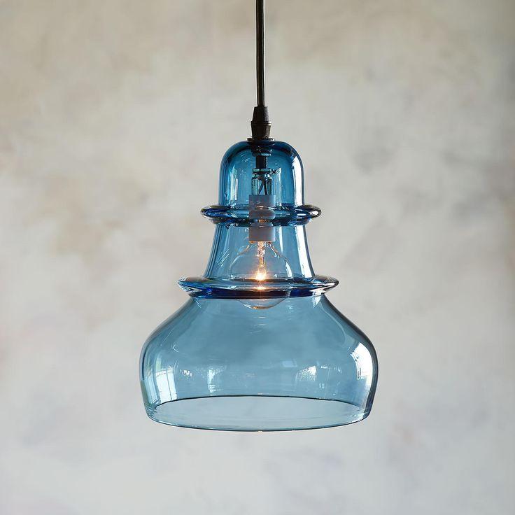 Salon Glass Demijohn Pendant Light In 2019 Lights