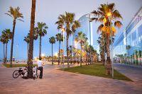 Spain, Catalonia, Barcelona, Barceloneta, district, W Hotel better known as Vela (Sailing) Hotel   #HemisTeam #Barcelone #Barcelona #VisitBarcelona