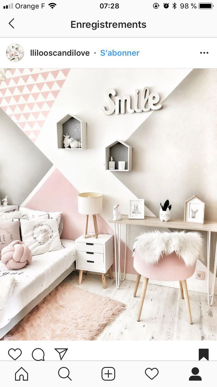 25 + › Neuer eifriger Raum – #Schlafzimmer #Mädchen #Neue # Zelie