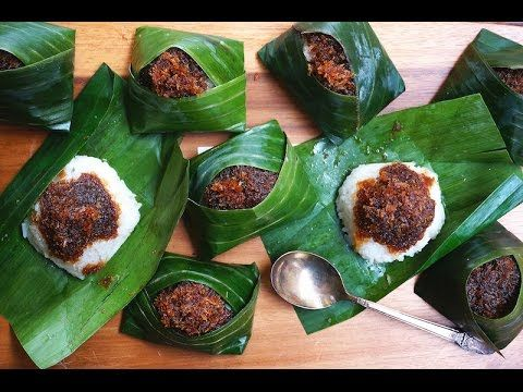 Pulut Inti-Glutinous Rice With Sweet Coconut