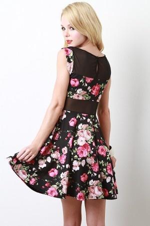 Garden Tea Party Dress