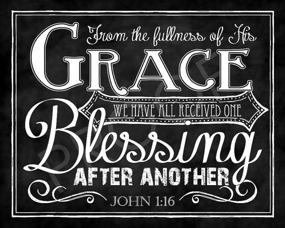 Mounted Scripture Chalkboard Art  John 116 by ToSuchAsTheseDesigns, $15.00