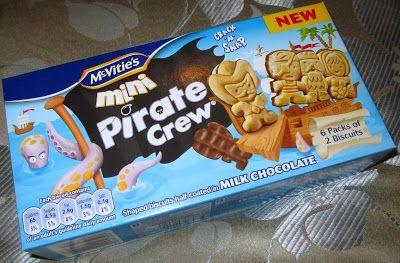 Foodstuff Finds: Pirates Versus Gingerbread Men (New @McVitie's #Biscuits) [By @SpectreUK]