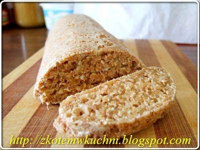 z Kotem w kuchni: Chleb Lniany - Dukan