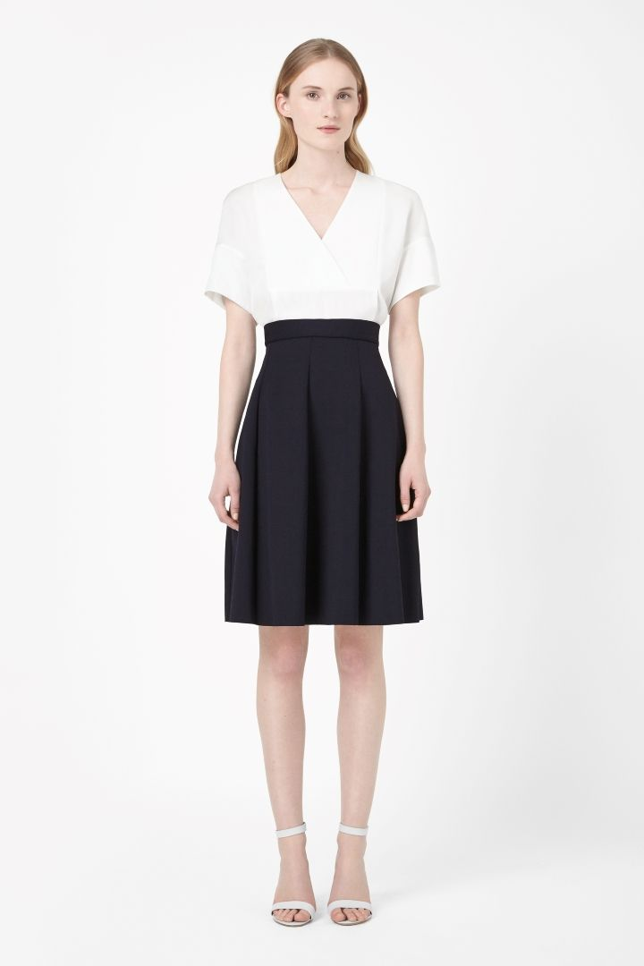 COS | Panelled jersey skirt