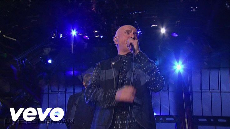 Peter Gabriel - Solsbury Hill (Live on Letterman)