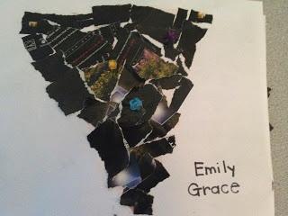 First Grader At Last Tornado Art Project Glue Objects