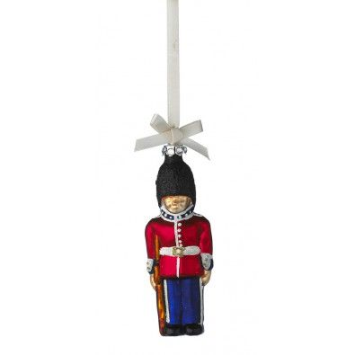 Danish royal garde Christmas ornament :) that fella is going on my tree!
