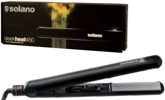 Straightening and Curling Irons: Solano Sleek Heat 450 1 Professional Ceramic Tourmaline Flat Iron 1757490 New! -> BUY IT NOW ONLY: $130.0 on eBay!