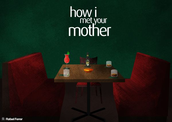 How I Met Your Mother posters on Behance