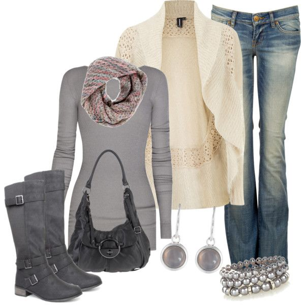 """Waterfall Cardigan"" by smores1165 on Polyvore"