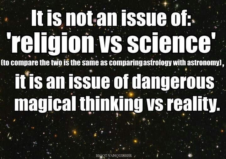 It's Not An Issue Of Religion Vs. Science. It's An Issue