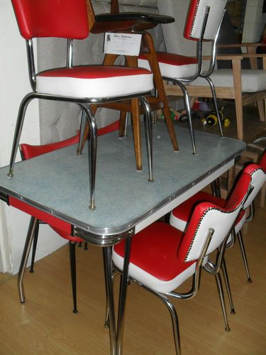 25 best 1950s-60 dining settings - red images on Pinterest ...