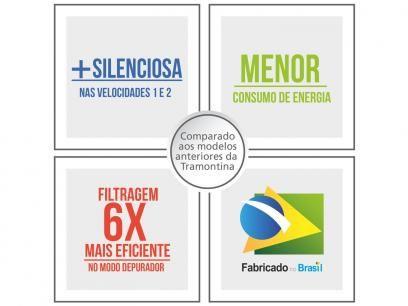 Coifa de Parede Tramontina New Dritta - Inox 60cm de Altura 3 Velocidades com as melhores condições você encontra no Magazine Voceflavio. Confira!