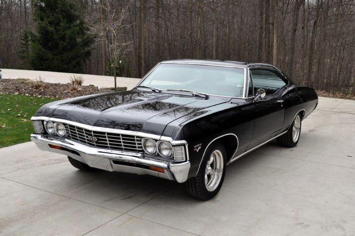 1967 black chevy impala introduced to me via supernatural amazing car sweet rides. Black Bedroom Furniture Sets. Home Design Ideas
