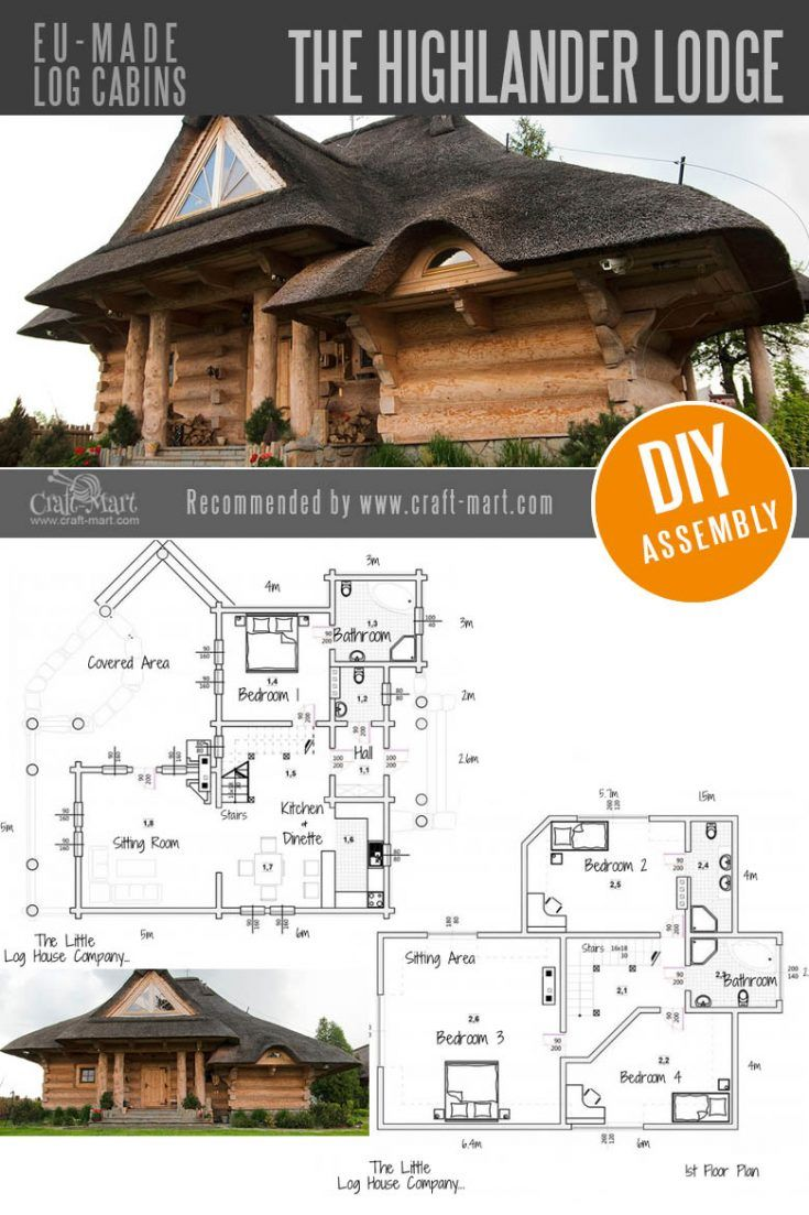 Amazing Fairy Tale-Style Pre-Built Cabins, Kits, and Custom Designs
