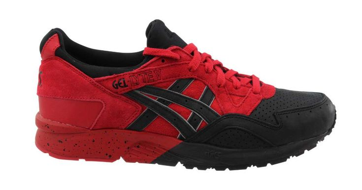 Get These Bright Red & Black Asics Gel-Lyte V For Just $60 Shipped While Supplies Last!