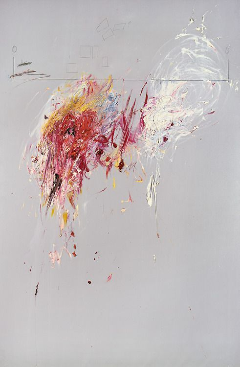 Love for Abstract Art  by: cy twombly