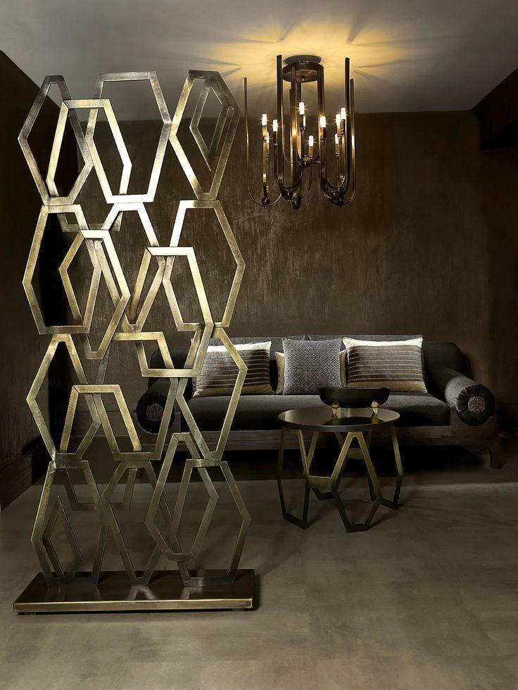 'Honeycomb' Screen by Turkish Designer Deniz Tunç