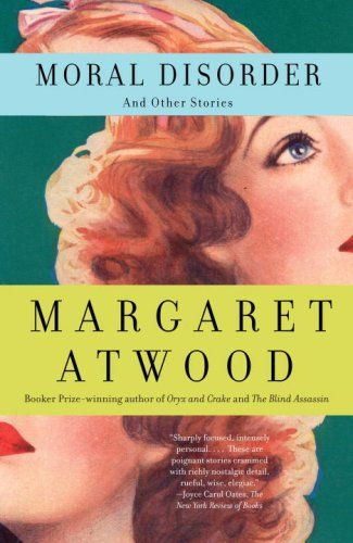 designed by john gall: Worth Reading, & Other Stories, Book Worth, Margaret Atwood, Shorts Stories, Book Covers, Morals Disorders, Book Design, Book Jackets
