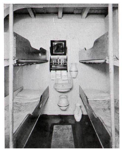 Titanic Bedroom Theme: View Of 4-Berth Stateroom Of The Third Class On The S.S