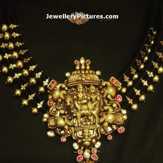black-dori-gold-necklace-design.jpg (679×679)