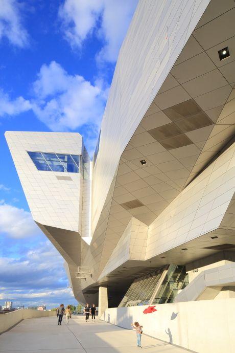 France, Lyon, Musée des Confluences by  Coop Himmelb(l)au ©Ludovic MAISANT