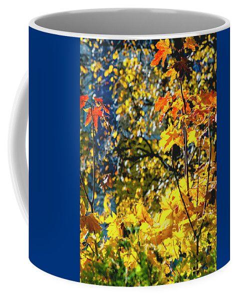 Fantasy Autumn Colors By Irina Savonova Coffee Mug featuring the photograph Fantasy Autumn Colors by Irina Safonova#IrinaSafonovaFineArtPhotography #food #Rustic #ArtForHome#CoffeeMug