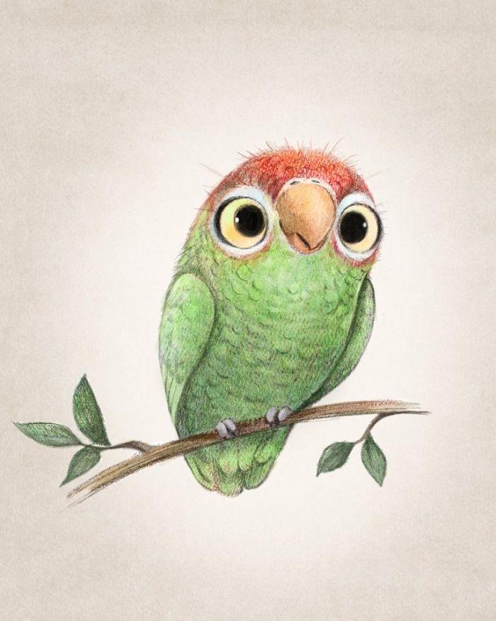 Рисунки цветными карандашами прикольные смешные