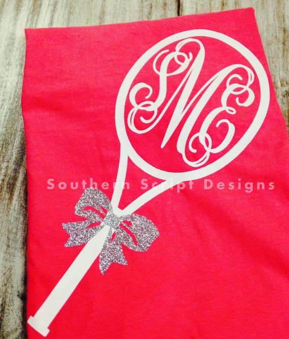 Short Sleeve Monogrammed Tennis Shirt by SouthernScriptSC on Etsy ONLY IN VOLLEYBALL PRINTS!!!!!!!!!