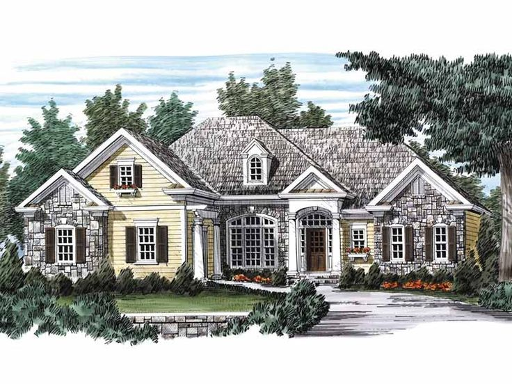 french country house plan with 2282 square feet and 3 bedrooms from dream home source