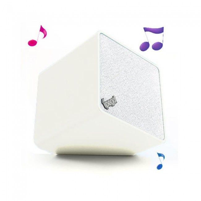 iPEGA Bluetooth Stereokaiutin Mikrofonilla (Valkoinen) - http://lux-case.fi/ipega-bluetooth-stereokaiutin-mikrofonilla-valkoinen.html