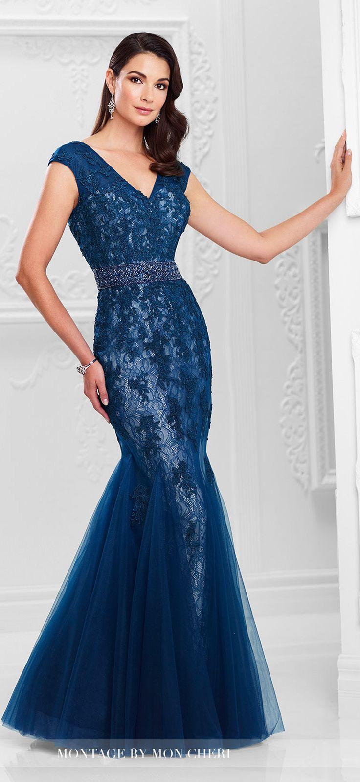Evening Dress by Mon Cheri Bridals Spring 2017   Wedding Guest Look