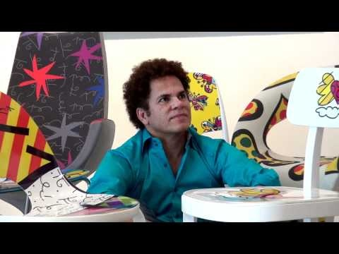 Romero Britto, Pop Artist (Miami, Florida)