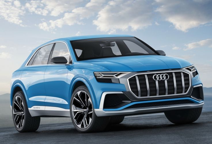 Audi presents the Audi Q8 concept at the 2017 (NAIAS). With this model Audi is tapping into a new segment for the full-size class...