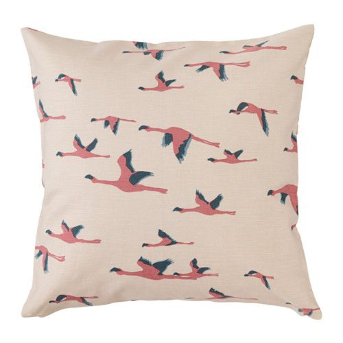 IKEA - MAJBRITT, Cushion cover, You can easily vary the look, because the two sides have different designs.The zipper makes the cover easy to remove.
