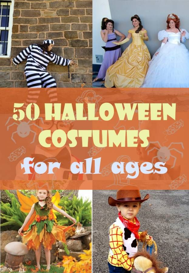 Looking for an easy homemade Halloween costume? Find over 50 easy homemade Halloween costumes ideas for toddlers, teens, groups or even last minute ideas!