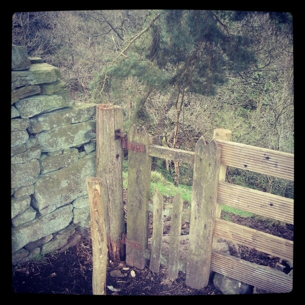 Elf gate. Atop Hardcastle Crags. West Yorkshire.