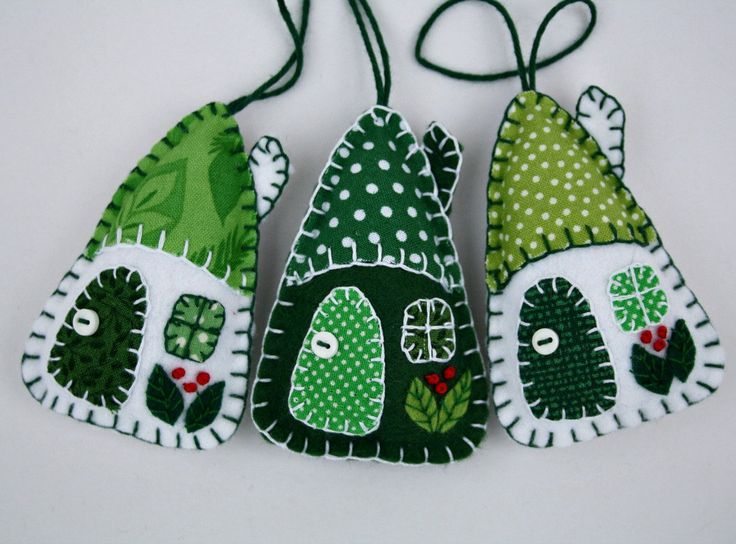 ***LAST ORDER DATES FOR CHRISTMAS DELIVERY - AUSTRALIA, CANADA, ROW 4th DEC, USA 7th DEC, UK AND EUROPE 14th DEC.*** Set of three little hanging