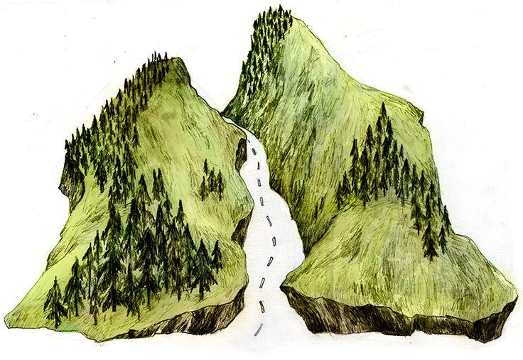 """Journey"" illustration by Eeva Meltio"