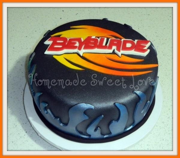 Beyblade by HomemadeSweetLove on Cake Central