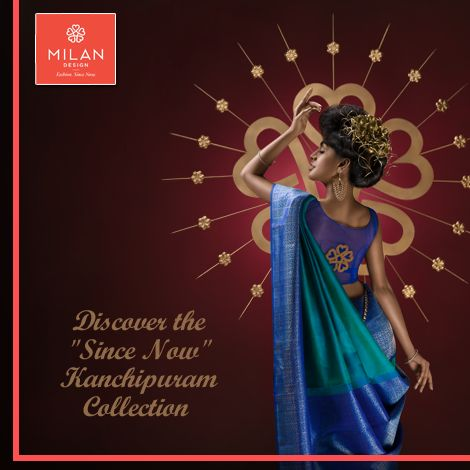 Milan Design brings you the real elegance of ‪#‎Kanchipuram‬! Discover the uniqueness at its best! Visit us at : www.milandesign.in ‪#‎MilanDesign‬ ‪#‎KanchipuramCollection‬