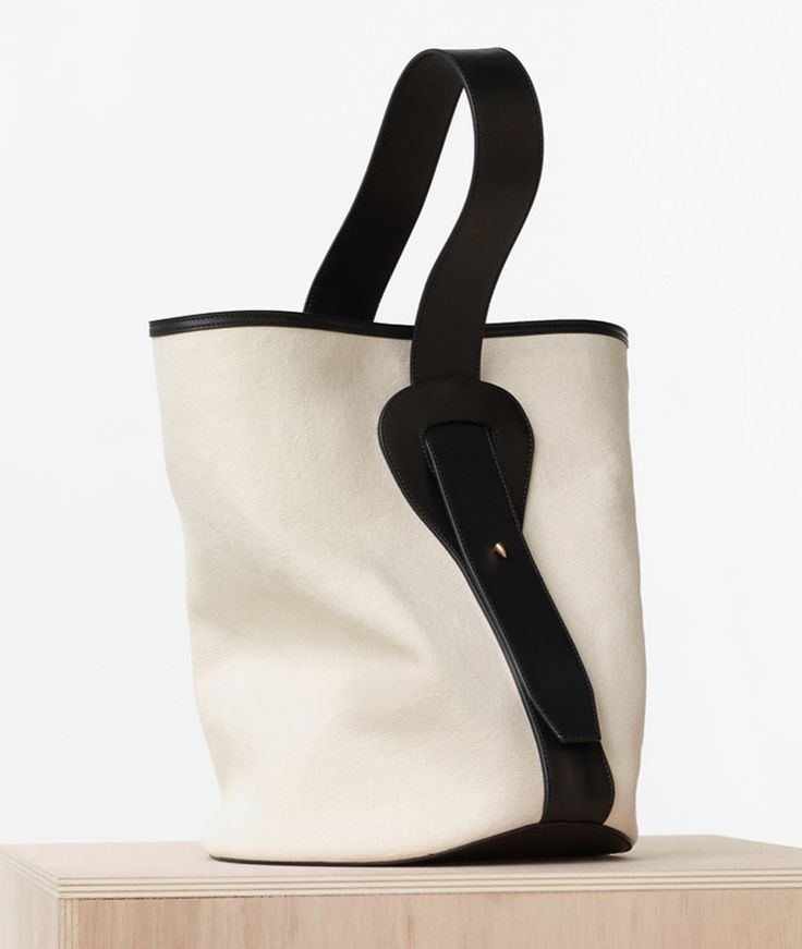 Celine-Small-Canvas-Bucket-Bag-1700 | carterulis | Pinterest ...