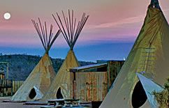 I want to spend a month here and explore everything..Tipi's at Grand Cayon Ranch Resort
