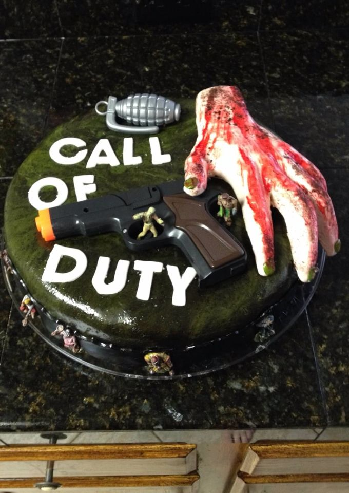 call of duty cake 17 best images about birthday cakes on 2378